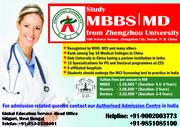 Study MBBS — MD from Zhengzhou University- China