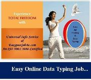 UIS OFFER OFFER Online /Offline data entry job,  Copy Past work.....