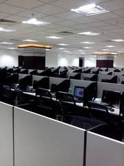 Fully furnished Call Center available for sub lease,  at Sector 5