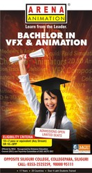 BACHELOR IN VFX & ANIMATION