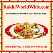 Rakhi Thali and Rakhi to UK