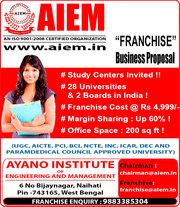 Become a Franchise Partner of AIEM