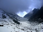 Tsomgo Lake Is Famous Tourist an Attraction in Sikkim
