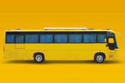 Tourist Bus Hire from Kolkata with Discount Price