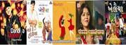 Gujarati nataks,  Hindi Movie Gujarati Garbas etc....