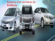 Venture Provide the Car Rental Services in Kolkata city