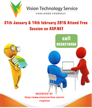 31th january & 14th february 2016 Attend Free Session on ASP.NET