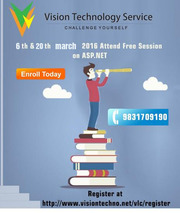 6th & 20th mach 2016 Attend Free Session on ASP.NET