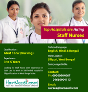 Hiring Cathlab Staff Nurse for Top Hospitals in West Bengal