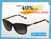 Get Upto 40% Discount on Leading International Branded Eyewear