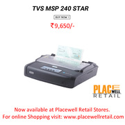 TVS MSP 240 STAR : Placewell Retail : TVS Printers