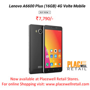 Buy Lenovo A6600 Plus (16GB) 4G Volte Mobile in Siliguri