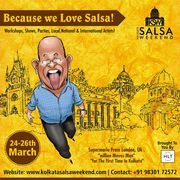 Kolkata Salsa Weekend: Dance Workshops,  Parties & Shows!
