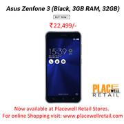 Buy Asus Zenfone 3 (Black,  3GB RAM,  32GB) Mobile Price in Siliguri