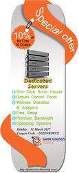 Dedicated Servers Big Saving Offer