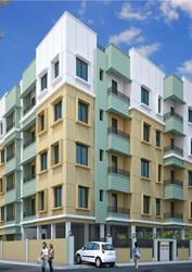 1BHK flat for sale near Khardah in Kolkata.