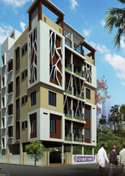 Affordable 3BHK flat available for sale in Newtown.