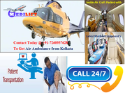 Get an Emergency Air Ambulance Services in Kolkata by Medilift