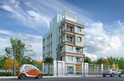 3BHK flat for sale in Newtown,  Kolkata.