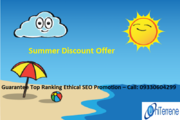 Hurry!! Summer Discount Offer!! Online SEO Promotion @Rs. 5, 999/-