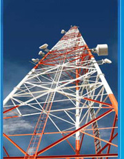 Telecom  towers manufactures in india