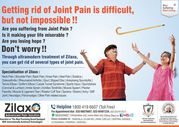 Getting rid of Joint Pain is difficult,  but not impossible !!