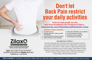 Don't let Back Pain restrict your daily activities