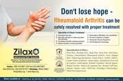 Seek proper treatment for Rheumatoid Arthritis