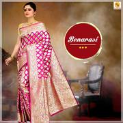 Buy Banarasi silk sarees for special occasions online