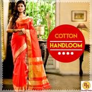 Shop online for Bengal's best Handloom sarees at Banarasi Niketan