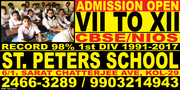 Admission Going On Class VII/ VIII/ IX/ X/ XI/ XII CBSE 'A'/ NIOS