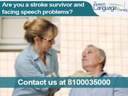 Best treatment of speech problem after stroke