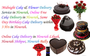 Online Free Cake Delivery in Howrah Shibpur Bally