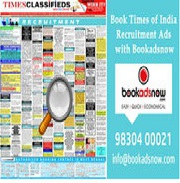 FASTEST OPTION TO BOOK YOUR AD IN TIMES OF INDIA NEWSPAPER