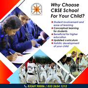 Choose the cbse school admission in howrah for curricular activities