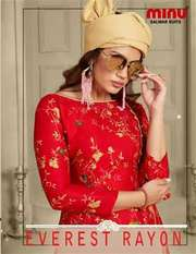Manufacturer and wholesaler of Designer Everest Rayon 3 Salwar Set